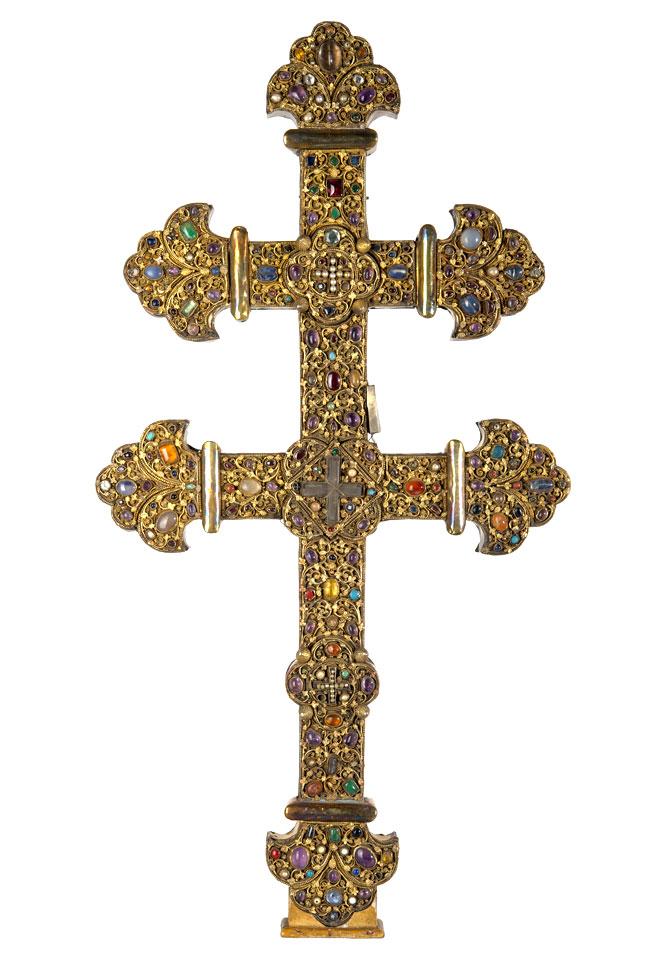 Croix reliquaire de Clairmarais