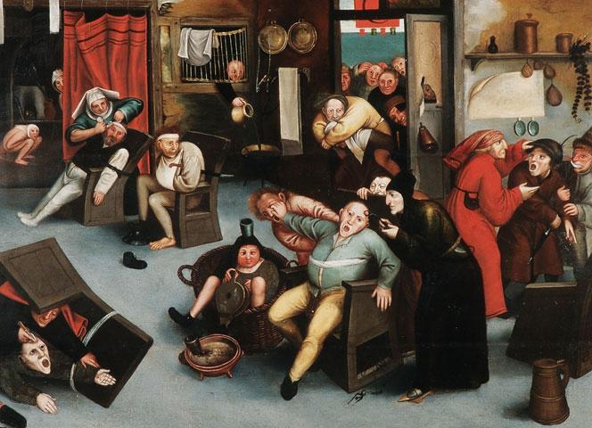 Excision de la Pierre de folie, d'après Bruegel l'ancien