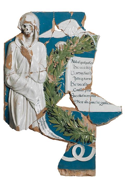 Fragments du tombeau de Guillaume Fillastre, Della Robbia, 15e siècle