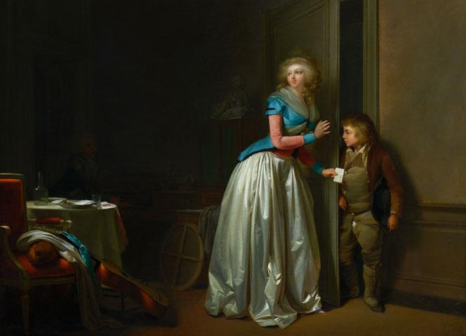 Quatre toiles de Louis-Léopold Boilly