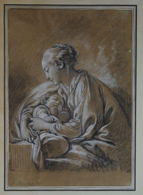 La jeune mère, François Boucher