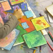 Atelier 8-12 ans «Mon paysage en 3D»