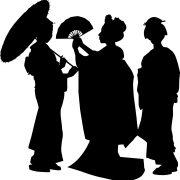 Les grands bouts de chou «Théâtre d'ombres japonais»