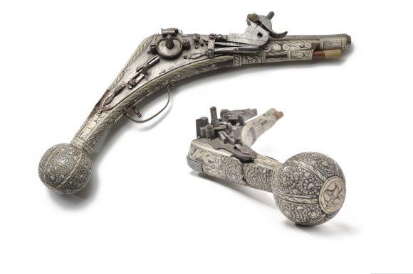 Pistolet à rouet, 16e siècle