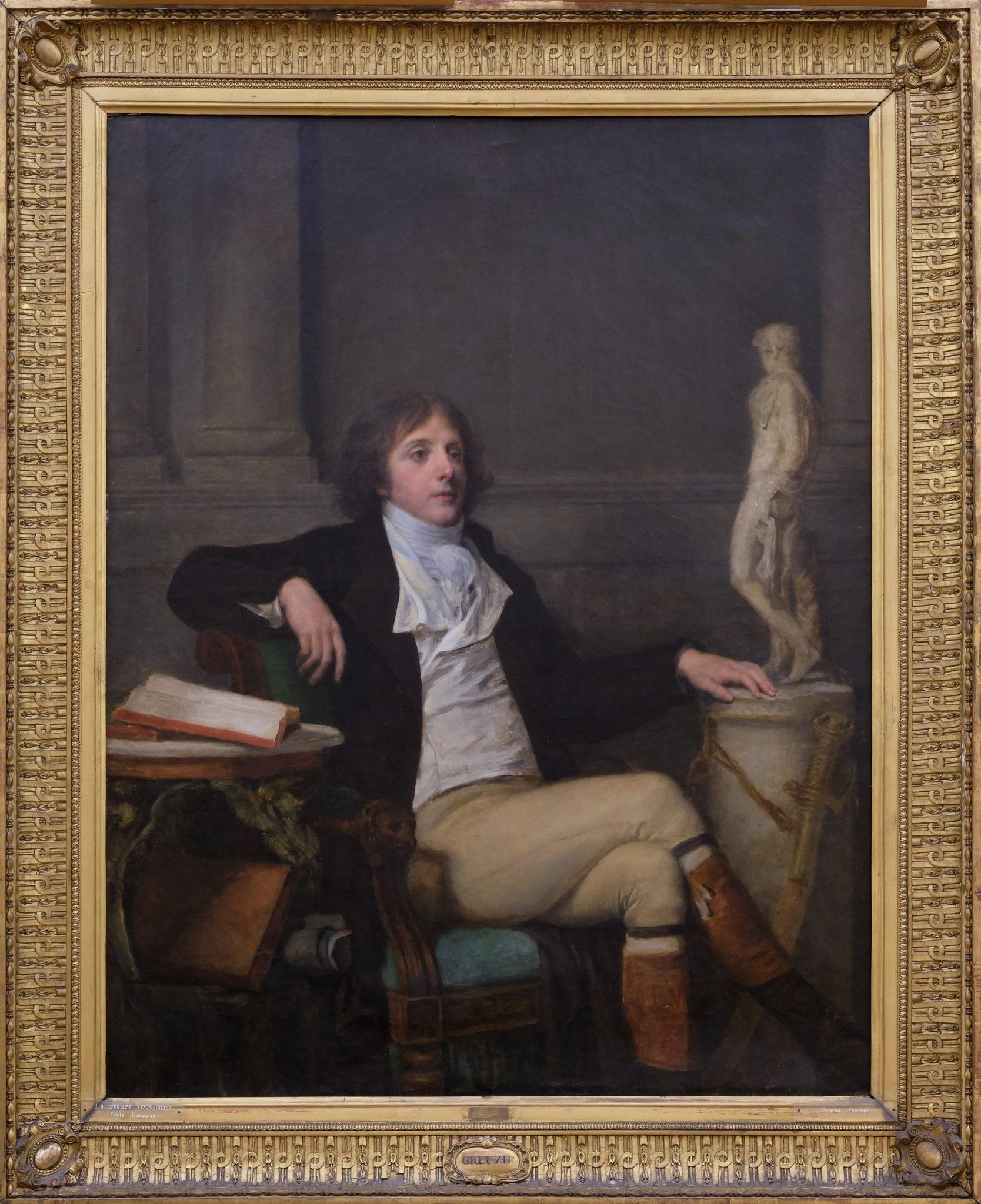 Portrait présumé d'Auguste Louis de Talleyrand, Jean-Baptiste GREUZE