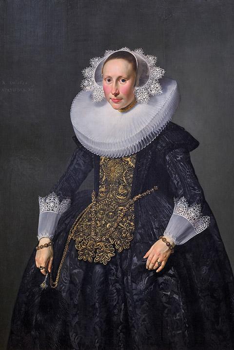 Portraits d'Henrick Verburg et Elisabeth Van der Aa, Thomas de Keyser