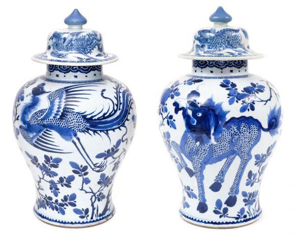 Potiche à couvercle, Chine, 18e siècle