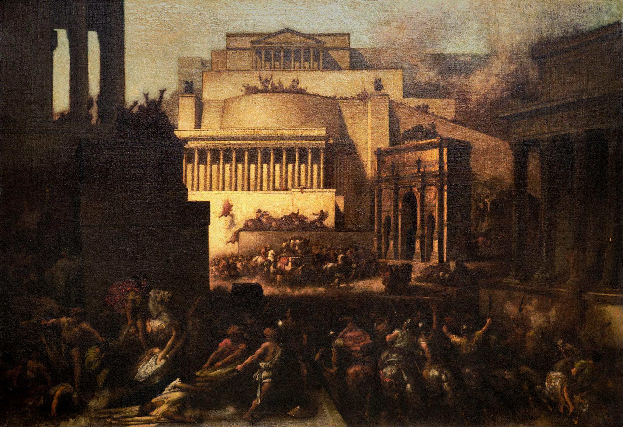 Sac de Rome, François- Nicolas Chifflart