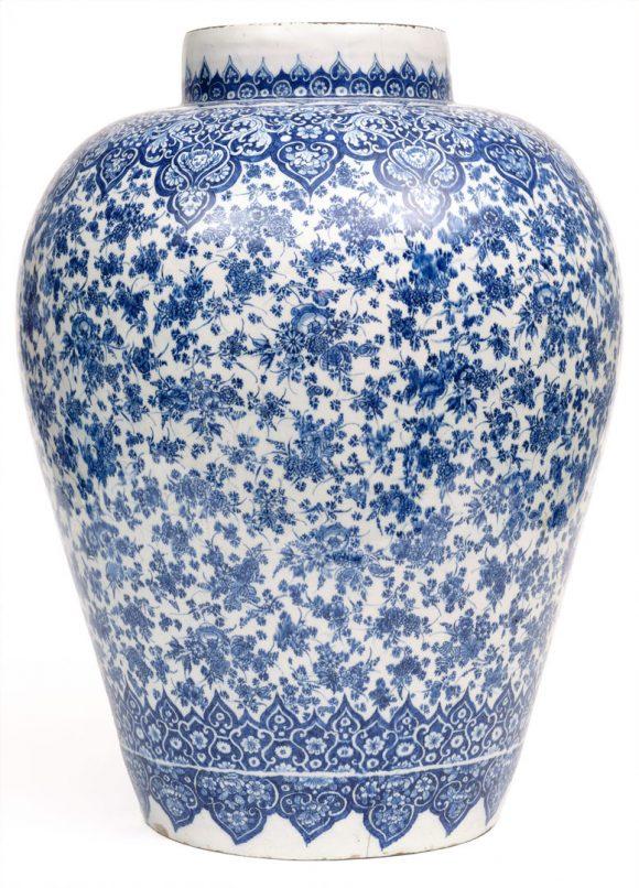 Vase, Louwijs Victors, manufacture De Dobbelde Schenckan, Delft, 18e siècle