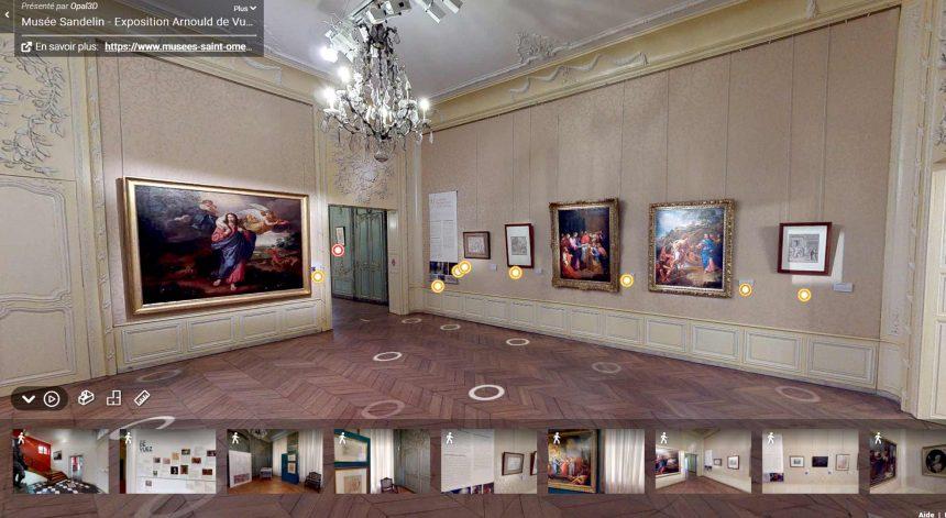Visite virtuelle 360° de l'exposition Arnould de Vuez
